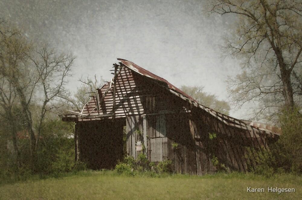 Falling Apart at the Seams... by Karen  Helgesen