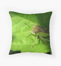 Stink Bug! Throw Pillow