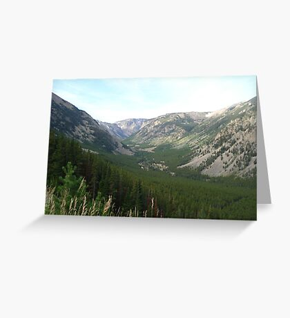 The Hanging Valley Greeting Card