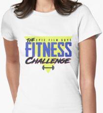 EFG Fitness Challenge Logo Women's Fitted T-Shirt