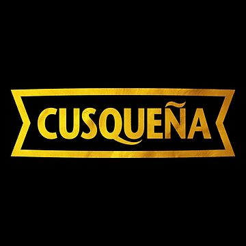 CUSQUEÑA GOLDEN BEER by DisobeyTees