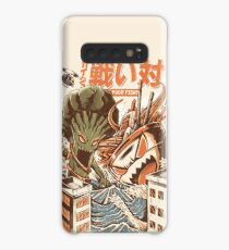 Kaiju Food Fight Case/Skin for Samsung Galaxy
