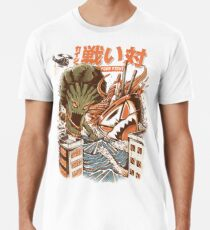 Kaiju Food Fight Premium T-Shirt