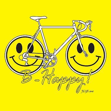 Bike Happy! B-Happy! Design  by jlgrcreations05