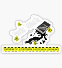 Vernacular grammar-cide Sticker