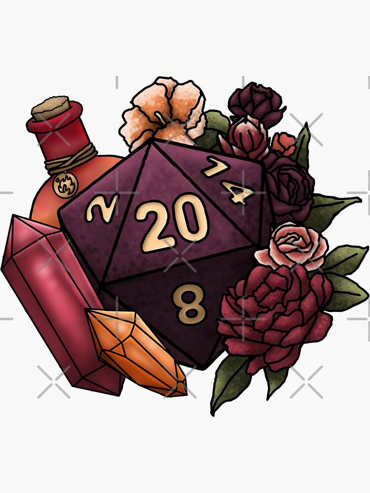 Sorcerer Class D20 - Tabletop Gaming Dice de SweetDelilahs