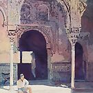 Alhambra Muse by JennyArmitage
