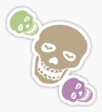 Skull T-Shirt Sticker