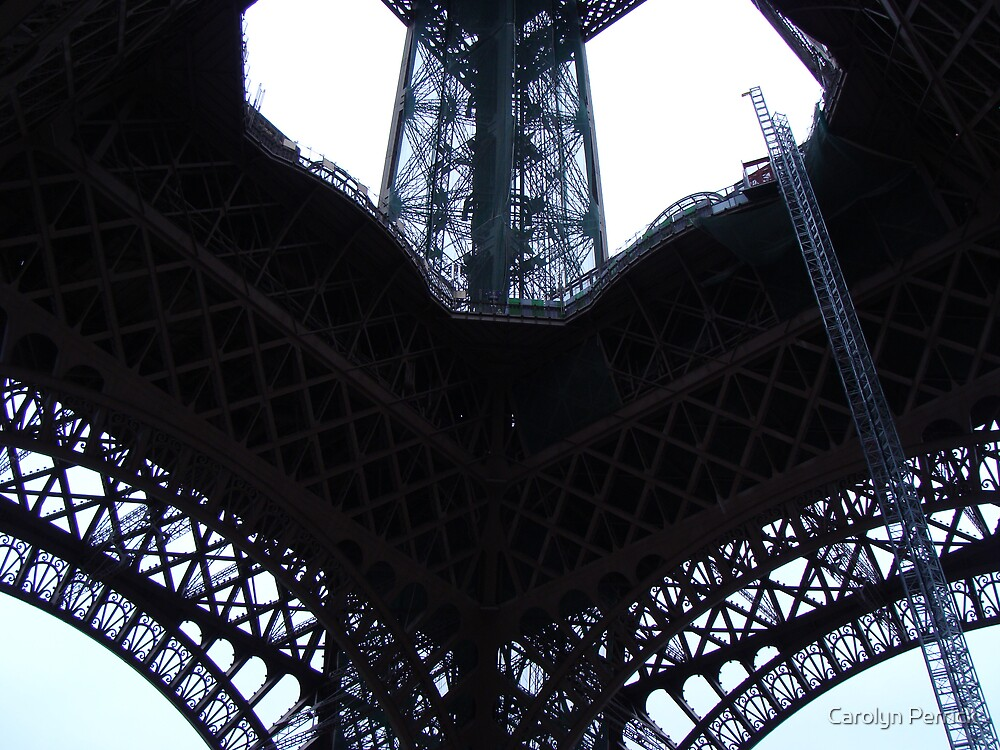 Sky Architecture in Paris by Carolyn Perrick