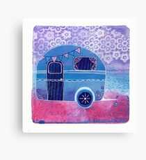 The Vintage Caravan Canvas Print