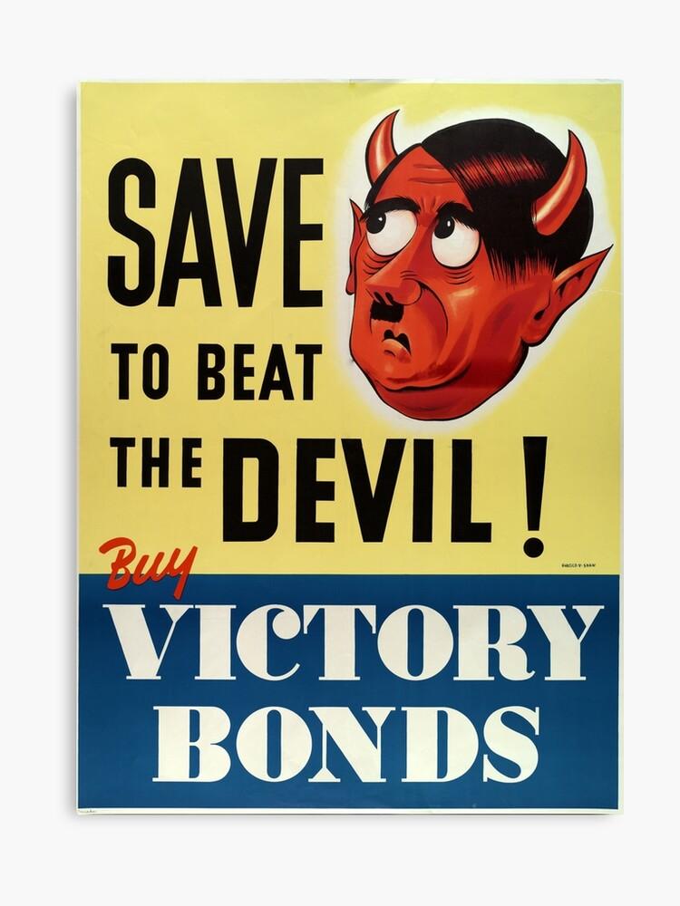 Ww2 Propaganda Print Vintage Reproduction Propaganda Poster