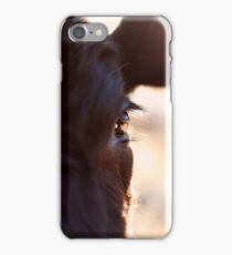 Cows have the most beautiful eyes iPhone Case/Skin