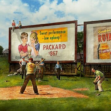 Sport - Baseball - America's past time 1943 by mikesavad
