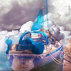 boat in a cloudy sea by terezadelpilar ~ art & architecture