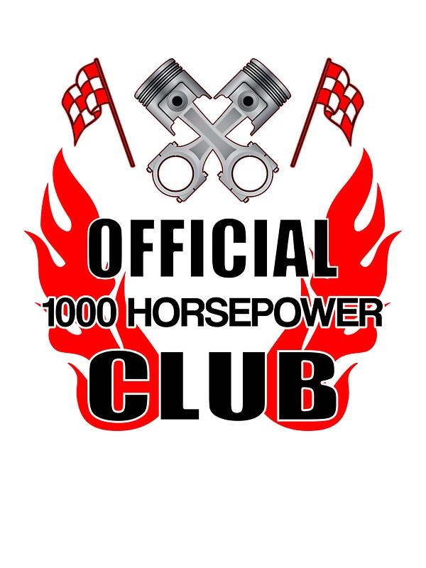Official 1000 hp club by tr0y