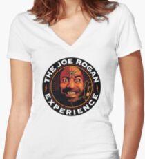 Camiseta entallada de cuello en V Joe Rogan Expirence