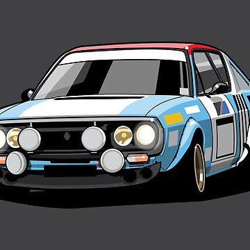 R17 Gordini 1974 Rally Car by monkeycom