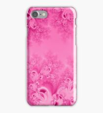 Soft Pink Frost of Morning Fractal iPhone Case/Skin
