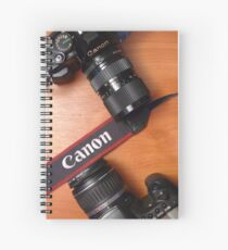 Canon Camera Photography  Spiral Notebook