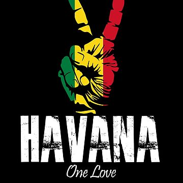 One Love Havana Peace Sign by MikeMcGreg