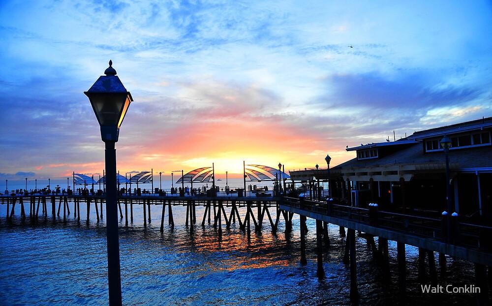 Horseshoe Pier  by Walt Conklin