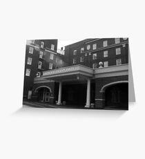 Stonewall Jackson Hotel Greeting Card