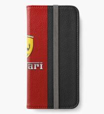 Red Ferrari Logo iPhone Wallet/Case/Skin