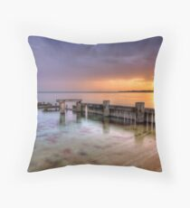Mentone Sunset Throw Pillow