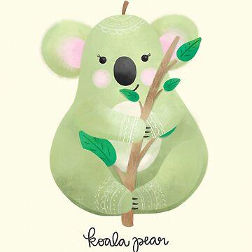 Koala Pear by noondaydesign
