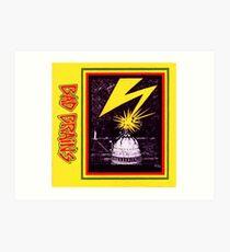 Brains Capitol Lightning Art Print