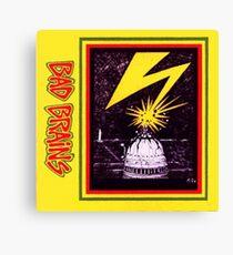 Brains Capitol Lightning Canvas Print