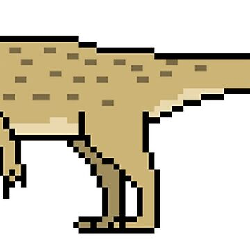 Allosaurus fragilis by PixelsOfThePast