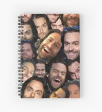 Oh Chris  Spiral Notebook