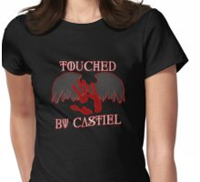 Touched By Castiel (#1) Womens Fitted T-Shirt