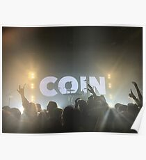 Coin band concert Poster