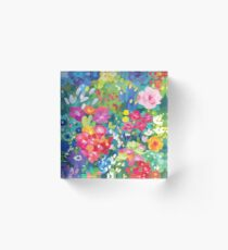 Florals...for Spring Acrylic Block