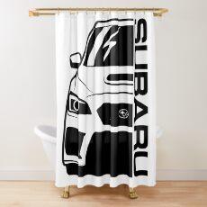 SUBARU WRX STI Shower Curtain