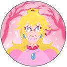 Princess Peach by tonguetiedart