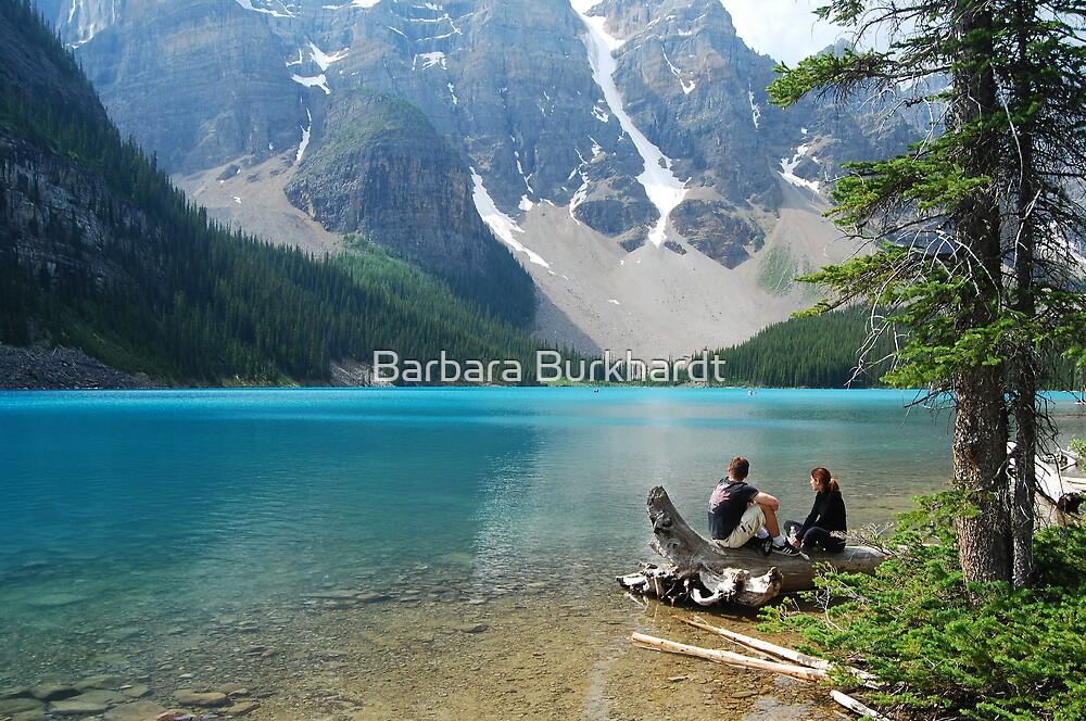 Magic on Moraine Lake #4  Calendar Series   by Barbara Burkhardt