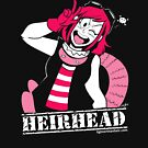 Heirhead- T-shirt by Mel Albino