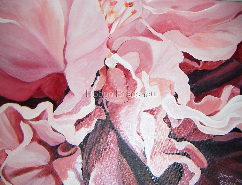 My Hibiscus by Robyn Bradshaw