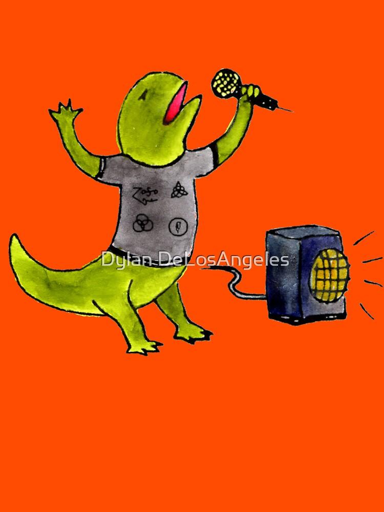 Karaoke Newt by delosangeles