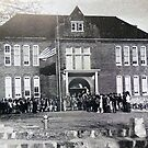 Poteau School Historic Photo by Poteau-Oklahoma