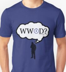 What Would John Do? Silhouette variant T-Shirt