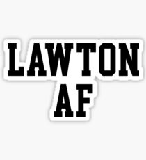 Lawton AF Sticker