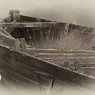 ruined boat by Jenna