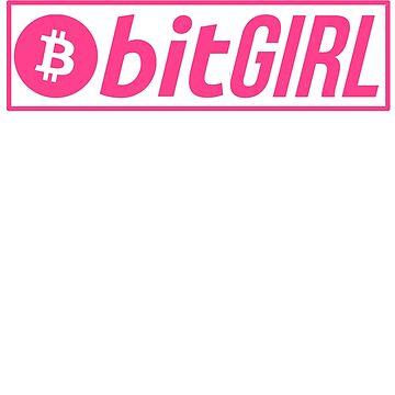 Bitcoin BTC The BitGIRL by BitcoinBros