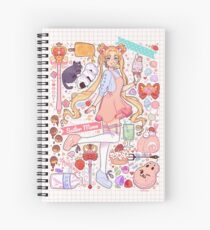 Sailor Moon Sweets Spiral Notebook