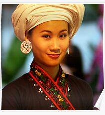 Portrait ,Chiang Mai, Thailand Poster