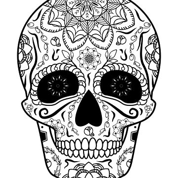 Sugar Skull by ShamanShore